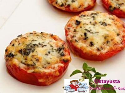 firinda peynirli domates