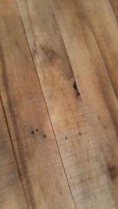 1920's Reclaimed Red Oak Lumber 1x4x42