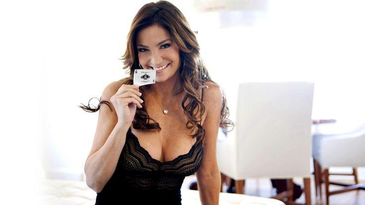 La poker player Beth Shak come Diletta Leotta