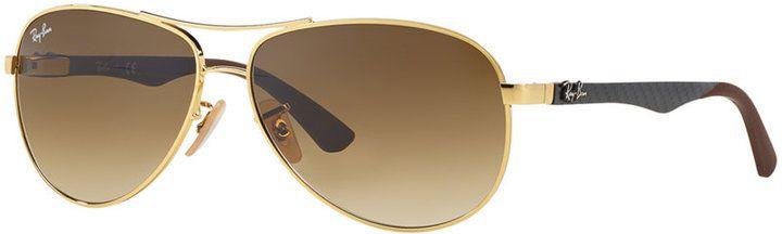 Ray-Ban Sunglasses, RB8313 61 Carbon Fibre