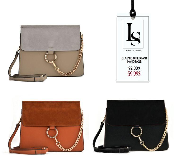 Get you classic and Elegant Fashion bag NOW ON SALE! #bag #handbag #fallbag #winterbag #fashion   See more here: https://goo.gl/hzpWrc
