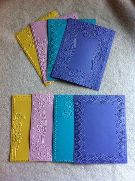 Scrapbook Mats...8 Piece Set of Very Pretty Frame Your
