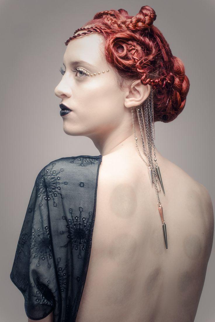 PH: Sara Ju Modelo: Daniela Izaciga MAKEUP & HAIR: Ezequiela Hair and Makeup — at FotoDesign Bogota. Tags: El origen del mundo / l i n g e r i e