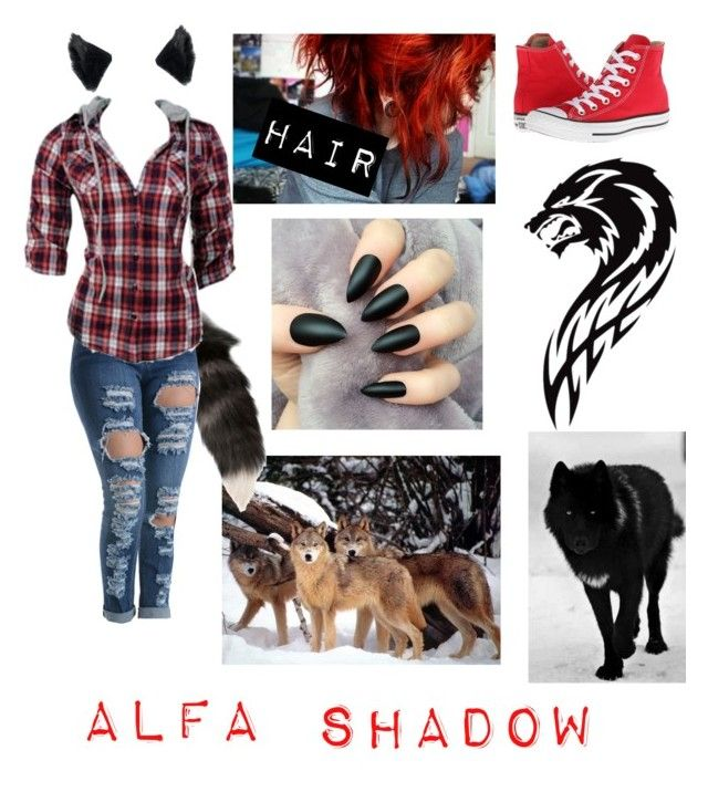 """Werewolf Alfa"" by lovestruckdreamer ❤ liked on Polyvore featuring Alexander McQueen, Converse, women's clothing, women, female, woman, misses and juniors"