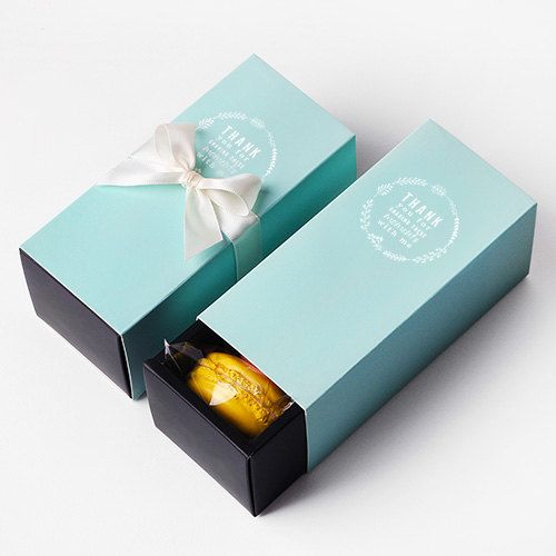 5 x Macaron boxes / Macaron Gift Boxes / Macaron by Twomysterybox