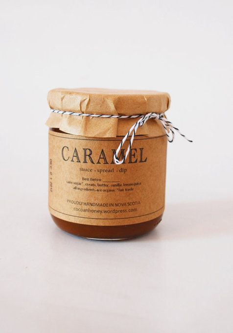 Organic Caramel Sauce ++ Cocoa and Honey