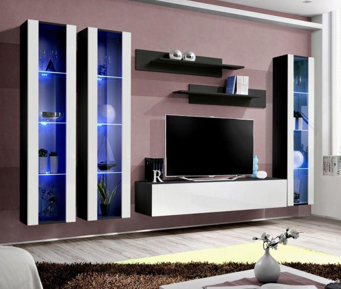 Best 25 living room wall units ideas on pinterest tv - Meuble living moderne ...