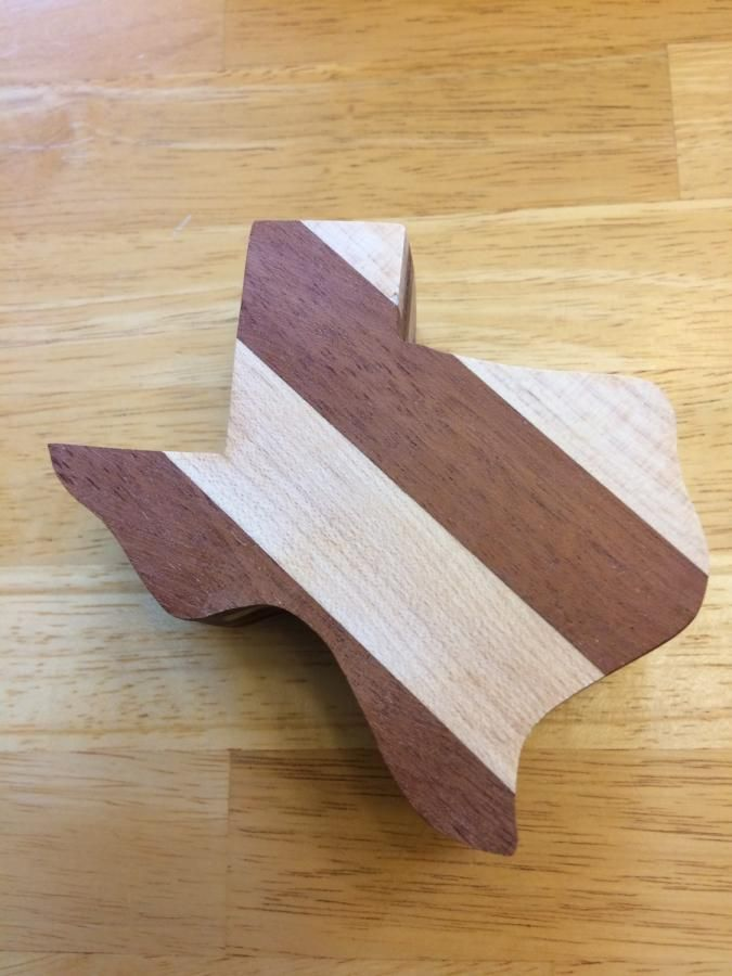 Texas Band Saw Box - I cheated! by Whittler1950