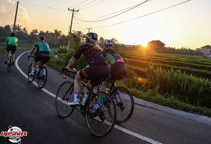 Today we had French Fries for breakfast, a new experience for everyone, and an interesting way to begin another day of cycling in Bali! We rolled out to soft morning air caressing our faces and a g…
