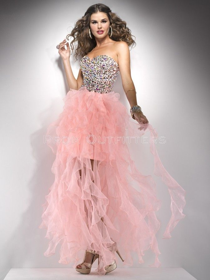 She fashions prom dresses 13