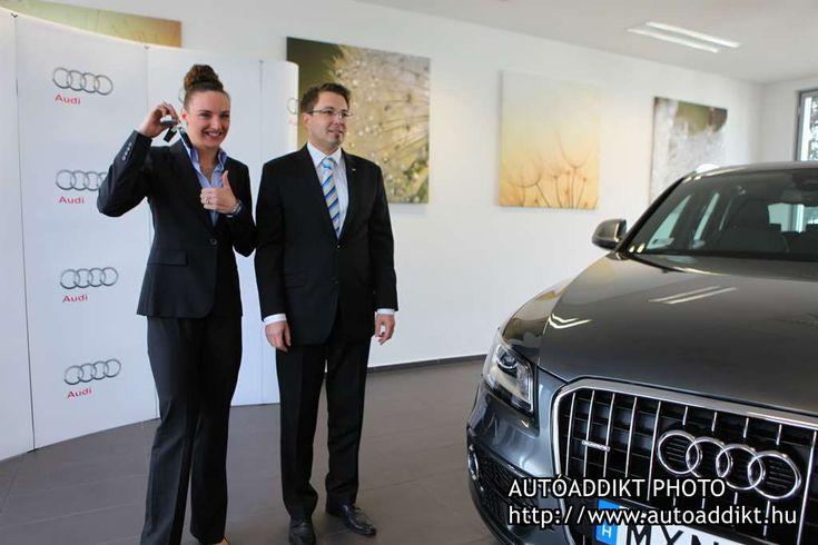 Hosszú Katinka átvette új Audi Q5-ösét - Autoaddikt.hu