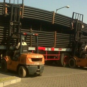 Loading Pipa HDPE