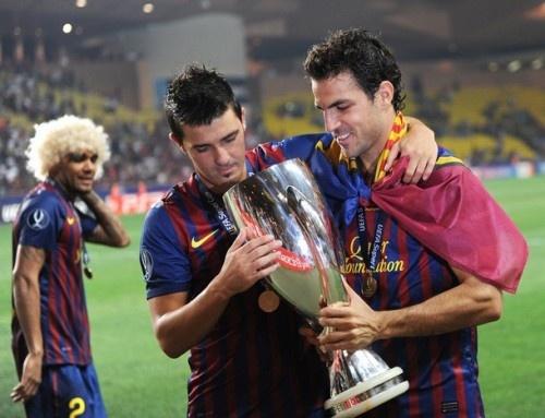 The Ever Funny Dani, Villa, Cesc & Barca Glory <3