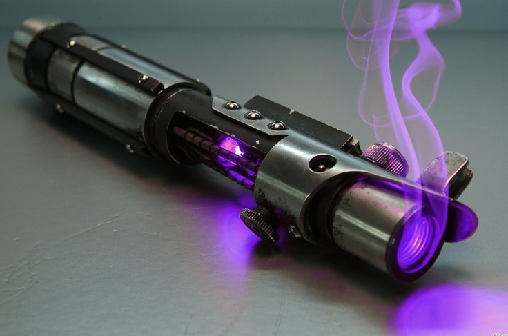 lightsaber. And it's better than any of the ones in the prequels.