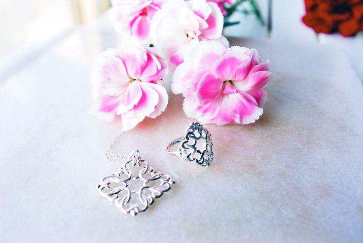 Lovely Heart -sormus ja riipus, Paletti Jewelry www.palettikorut.fi