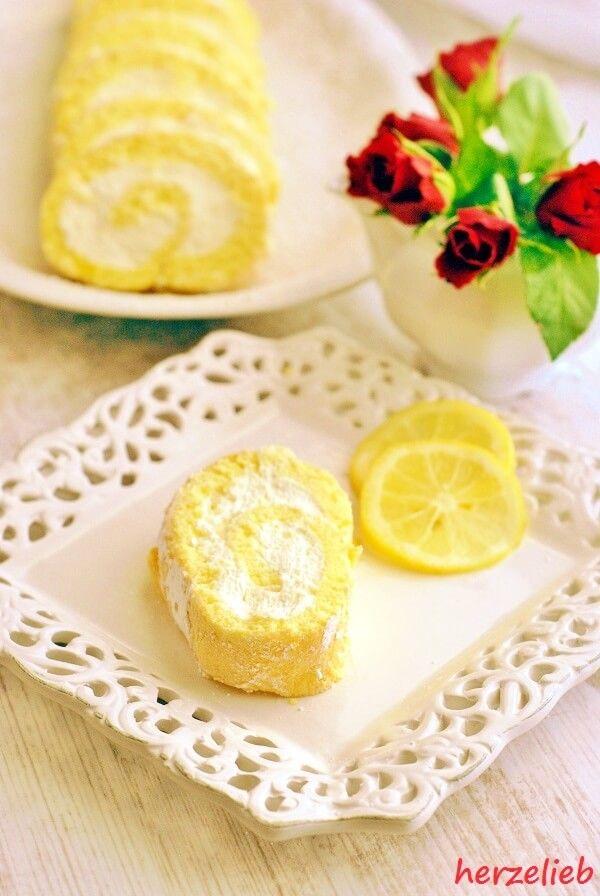 Zitronenrolle Rezept – Dieser Kuchen ist ein geliebter Klassiker! | Meyer lemon recipes, Food, Lemon recipes