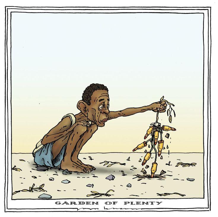 Joep Bertrams  (2017-03-27)  Famine en Afrique: les semences de la guerre