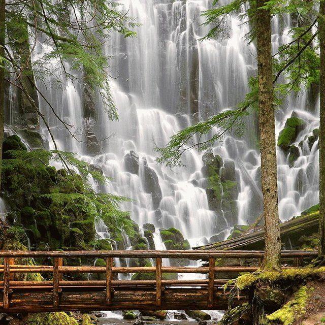 Ramona Falls, Mt. Hood, Oregon