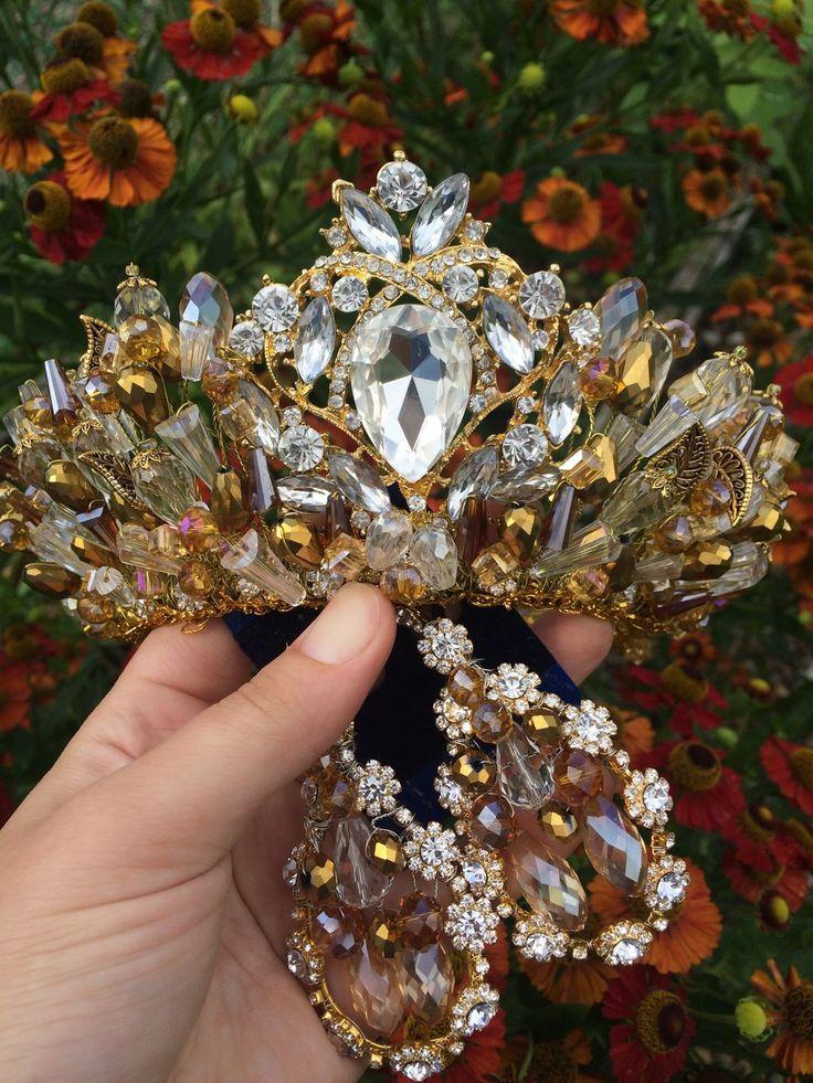 """Купить Свадебная Корона """"Венера"""" - корона, диадема, диадема свадебная, тиара, ободок свадебный"""