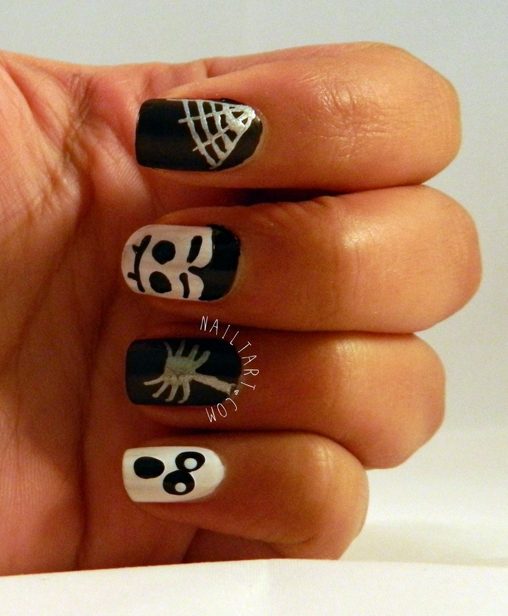 36 best Spiders and web nail art images on Pinterest | Halloween ...