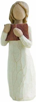 Amazon.com: Demdaco Willow Tree Figurine, Love of Learning: Susan Lordi: Home & Kitchen