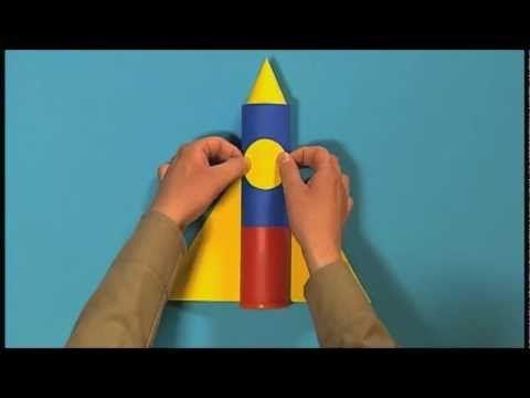 mister maker how to make a castle