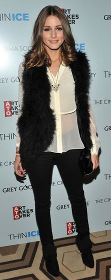 Fur Gilets are this seasons must have wear it over a blouse or jeans to give this look an edge
