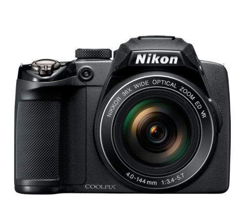 Nikon COOLPIX P500 12.1 CMOS Digital Camera with 36x NIKKOR Wide-Angle Optical Zoom Lens and Full HD 1080p Video