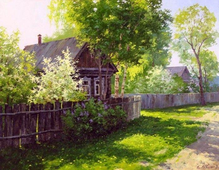 пейзажи Дмитрия Левина –15