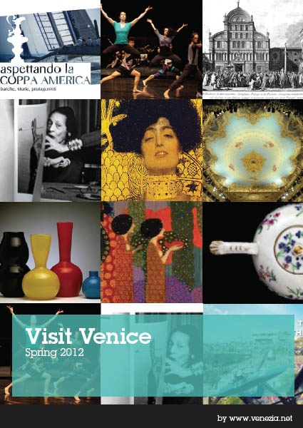 In our Magazine VISIT VENICE SPRING 2012 you will find all the events, exhibitions, concerts and shows taking place in Venice and beyond. You will also find insights on museums, night life and various curiosity    http://issuu.com/venezia-venice/docs/visit-venice-spring2012