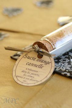 Sucre et sel aromatisés { cadeaux gourmands # 3 et # 4 }