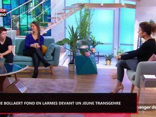 Faustine Bollaert fond en larmes face à un jeune transgenre (Vidéo)