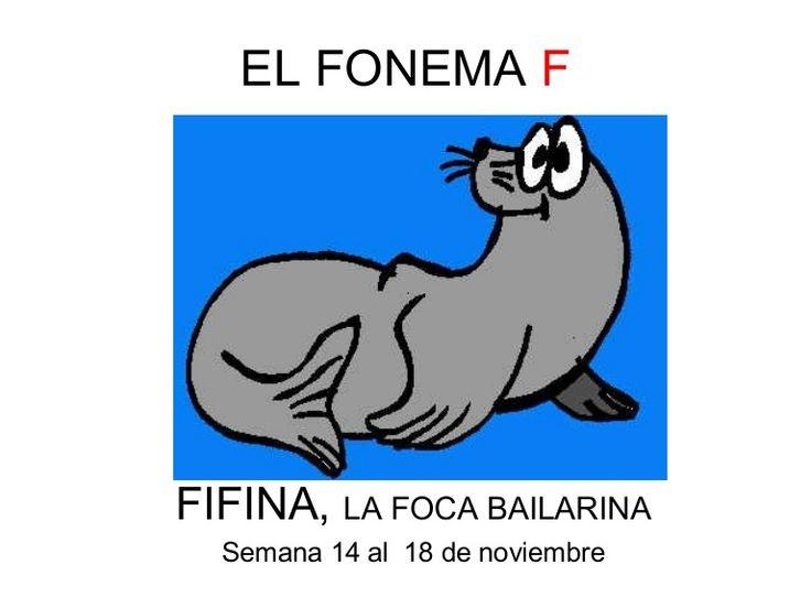 Reforzar la adquisición del fonema F, ejercicios para trabajar la articulación, discriminación visual y auditiva...