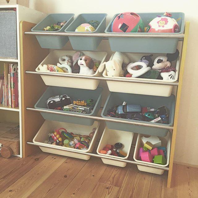 おもちゃの収納,おもちゃ,収納,ラック