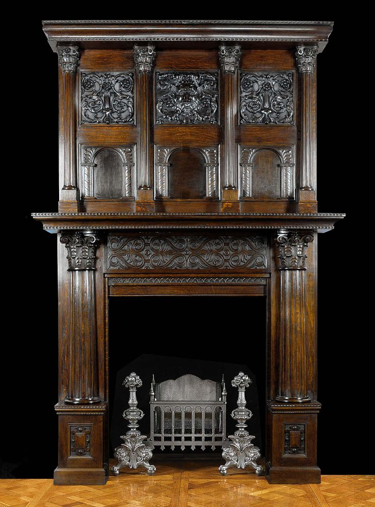 78 best antique fireplace mantels images on pinterest for Fireplace and mantel