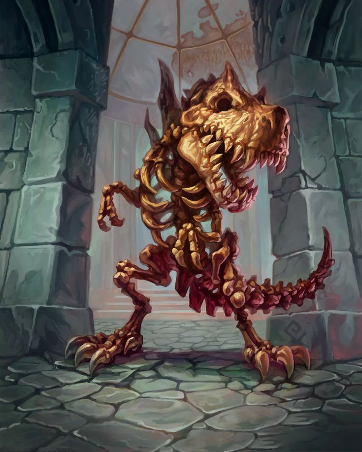 Card Name: Fossilized Devilsaur Artist: Trent Kaniuga