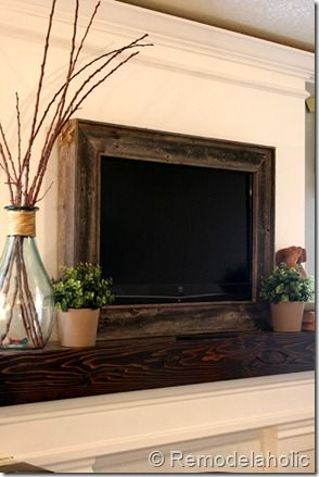 Framing in a Wall Mount Television - diy tutorial I hope to get uverse and I would love todo this my house is very vintage and I could do amazingness with this idea