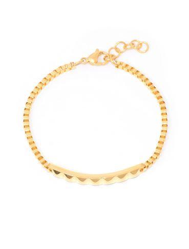 Pyramid Bar bracelet - Gold