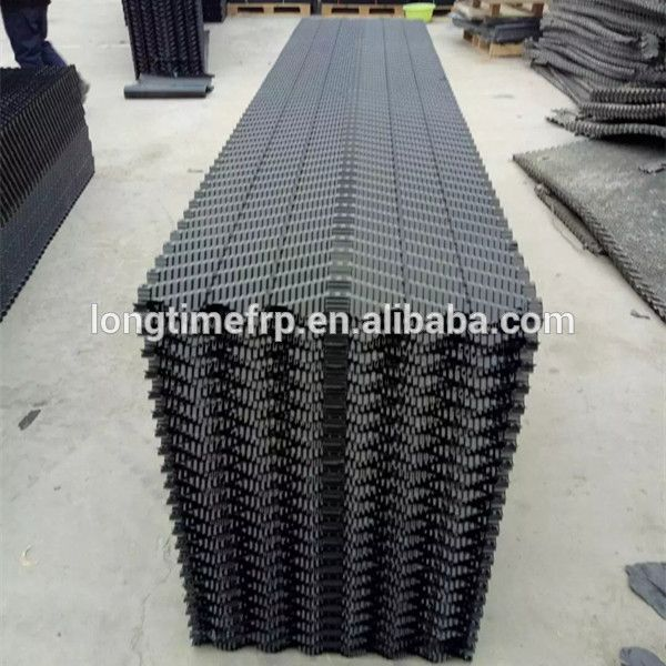 19mm Offset Fluted Cooling Tower Filling Pvc Cooling Tower Packs