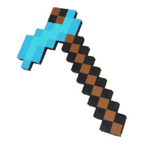 Minecraft Hoe Foam Toy