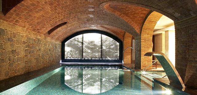 19 best take a dip images on pinterest luxury hotels Barcelona hotel with indoor swimming pool