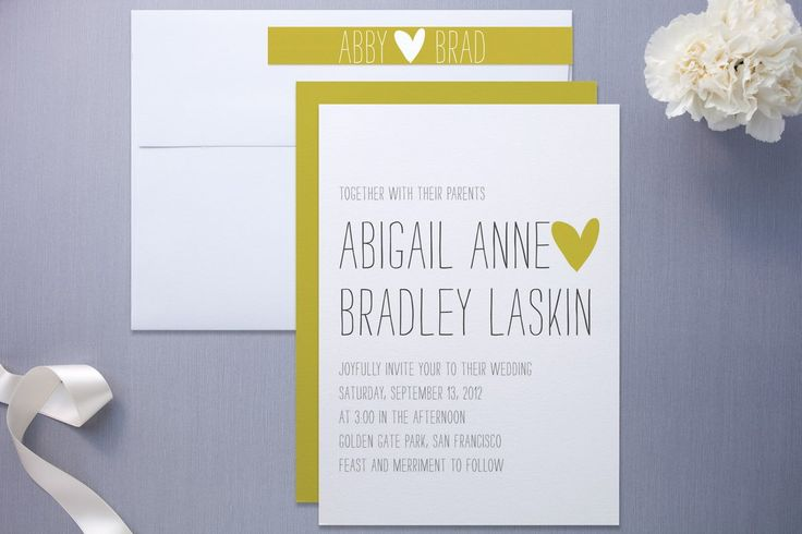 Minted Invitation Suites, Wedding Invitations Photos by Minted
