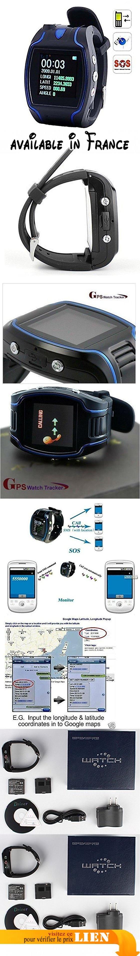 """RASTREADOR GPS TK109 LOCALIZADOR VER TELÉFONO GPS GSM LUZ SPY UBICACIÓN. Fonctions principales : montre, portable, traceur GPS GSM (Quadri-bande). Écran : LCD 1,5 """". Informations sur l'écran : heure, date, longitude, latitude, allure, altitude.. Fonctionne en mode haut-parleur comme un téléphone normal #GPS or Navigation System #SURVEILANCE_SYSTEMS"""