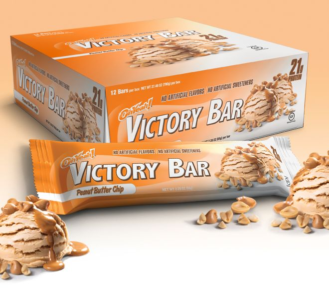 ISS Research OhYeah! Victory Bars are 100% Natural High Protein Bars! Get the Lowest Prices on OhYeah! Victory Bars at Bodybuilding.com!