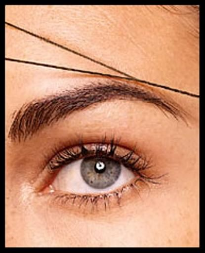Eye Brow Threading a natural way to groom your eyebrows.