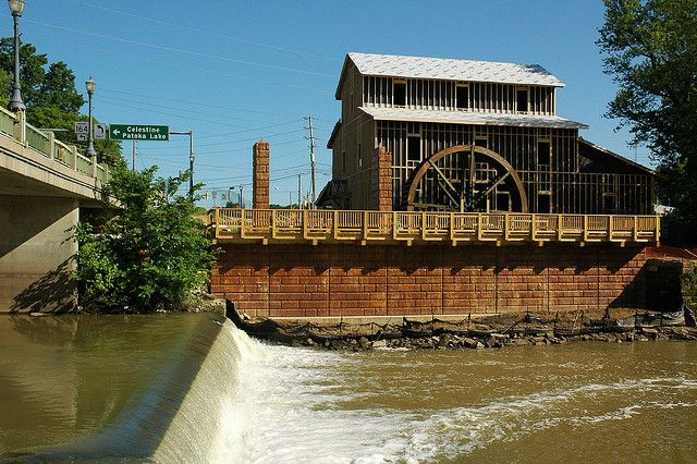 """The New """"Recreated"""" Eckert Mill in Jasper, Indiana by Crumblin Down"""