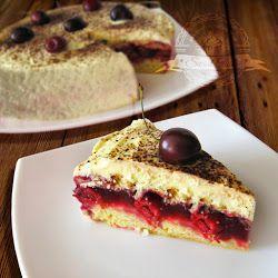 Літній торт з вишнею
