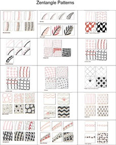 33 best images about zentangles on pinterest teaching patterns and zentangles. Black Bedroom Furniture Sets. Home Design Ideas