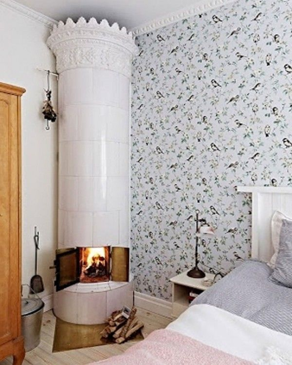 Bright Scandinavian Decor In 3 Small One Bedroom Apartments: Fireplaces, Wood Burner And The O'jays