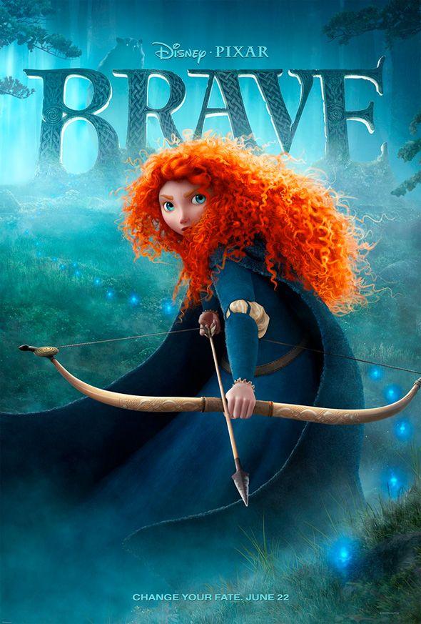 Disney Brave, Disney Princesses, Brave Posters, Disney Pixar, Looks Forward, Movie Tv, Favorite Movie, Pixar Brave, Pixar Movie